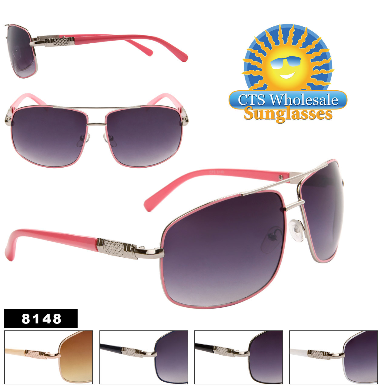 Wholesale Aviator Sunglasses 8146