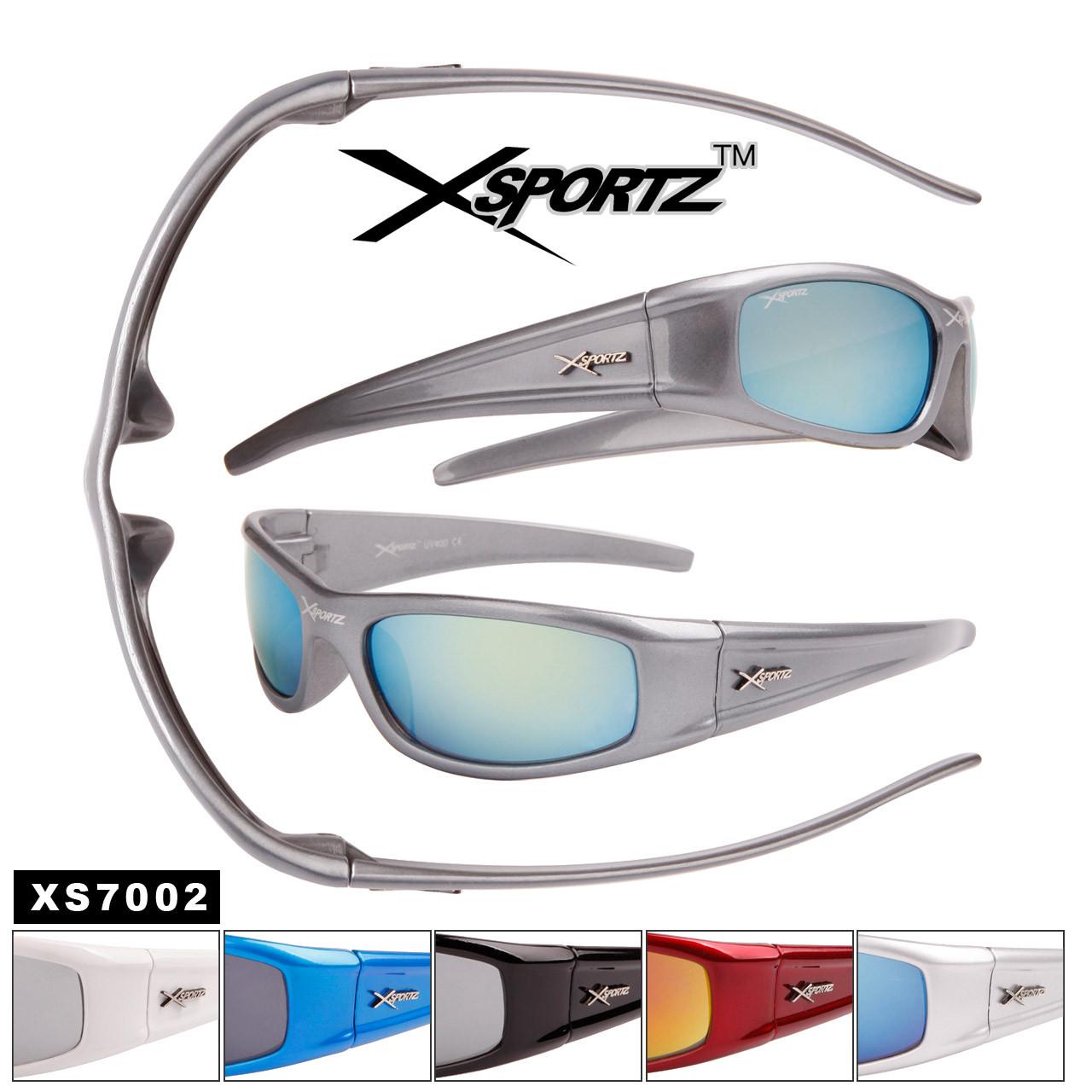Xsportz™ Men's Sunglasses by the Dozen - Style #XS7002 (Assorted Colors) (12 pcs.)