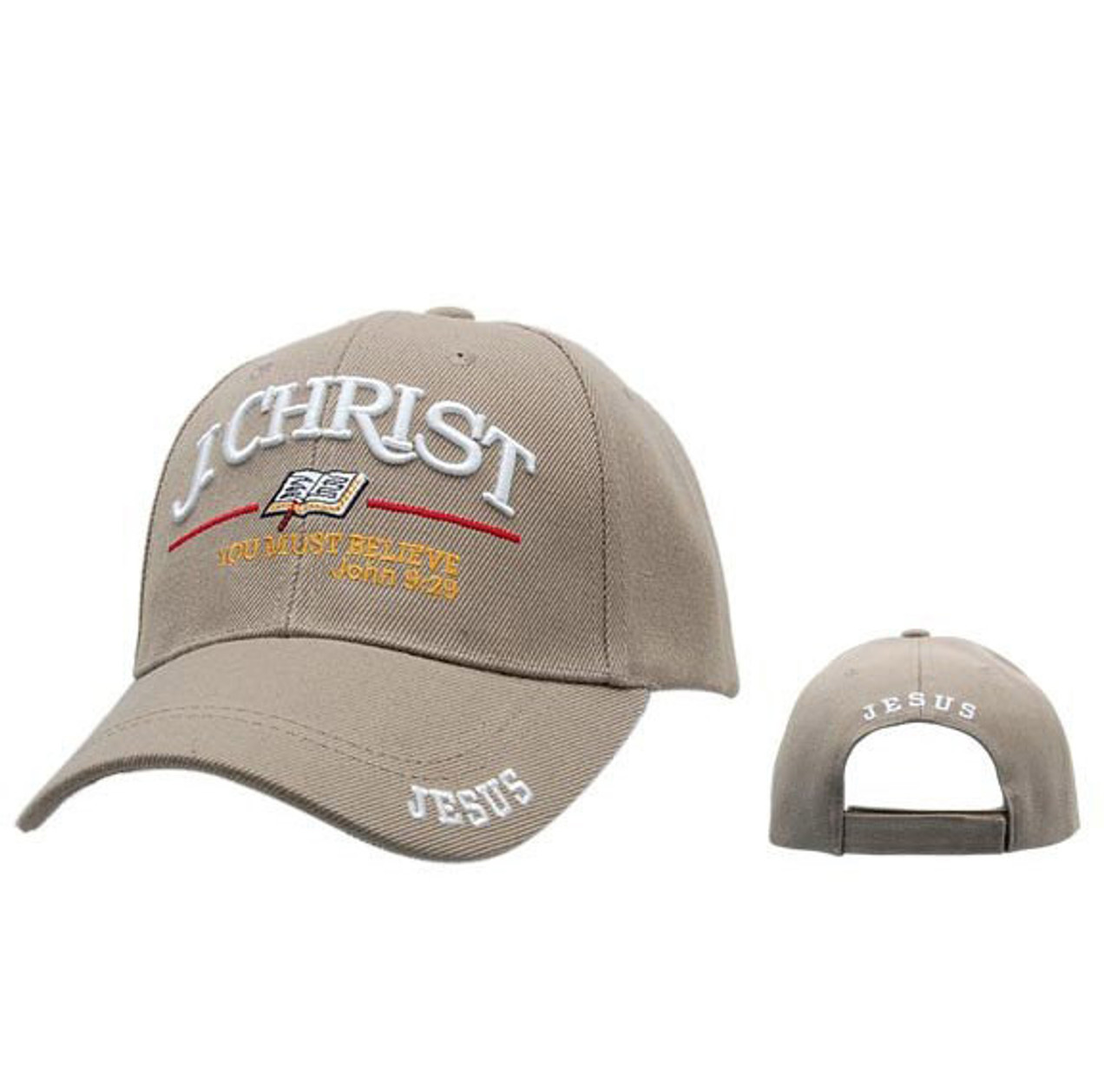 mens christian baseball caps cheap themed hat wholesale beige