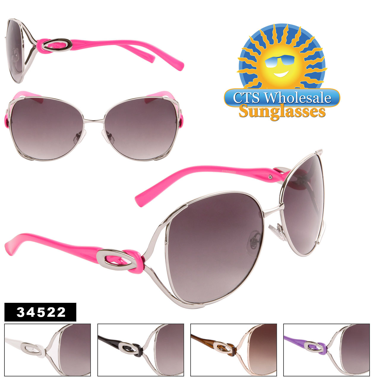 Women's Sunglasses by the Dozen - 34522