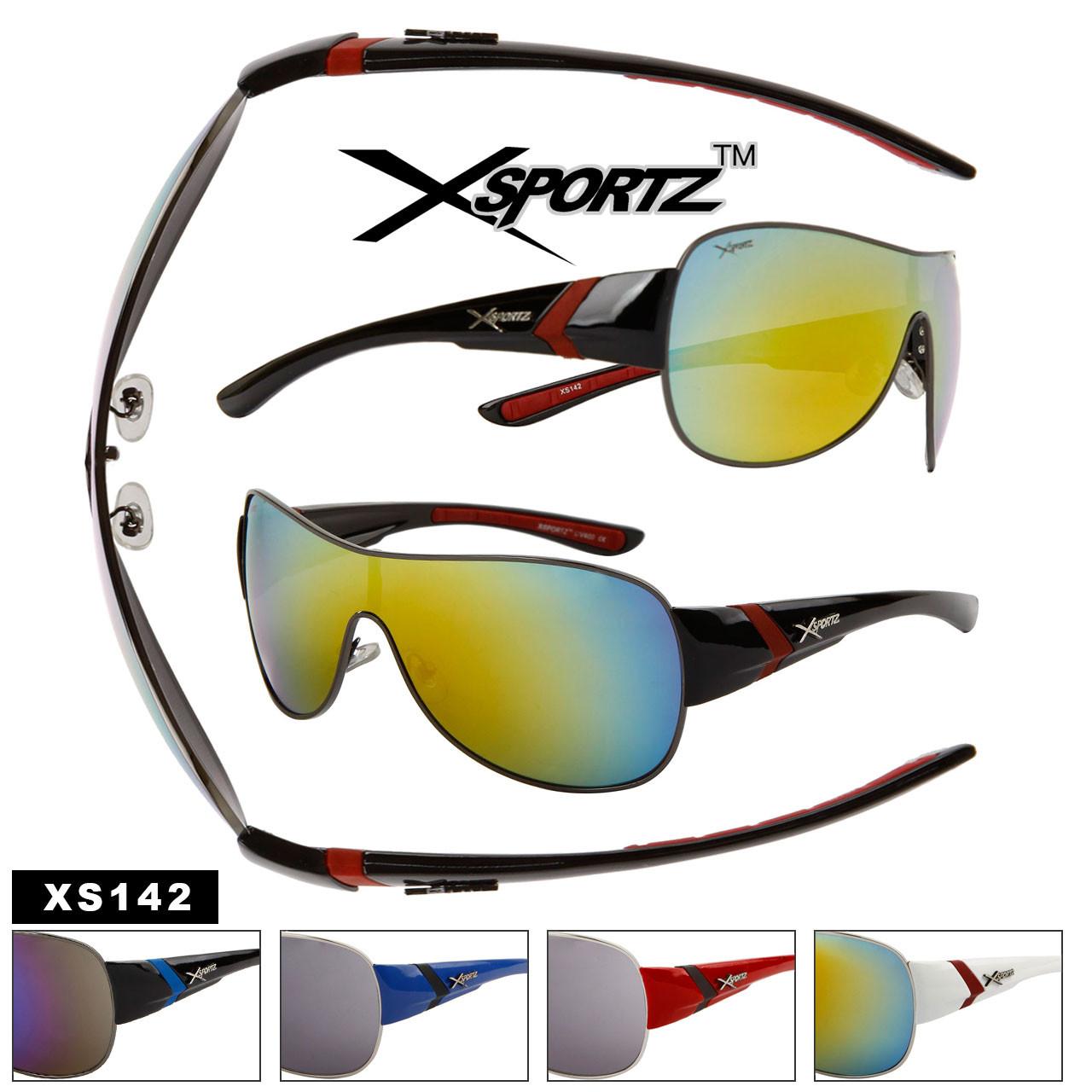 Bulk Mirrored Xsportz™Sunglasses - Style #XS142