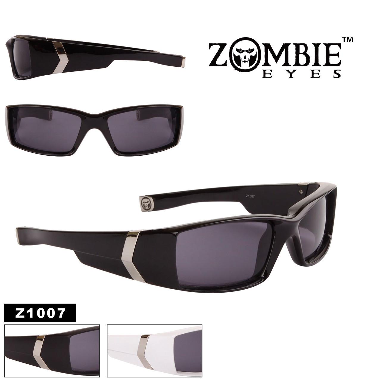 Men's Designer Zombie Eyes™ Sunglasses - Style #Z1007 (Assorted Colors) (12 pcs.)