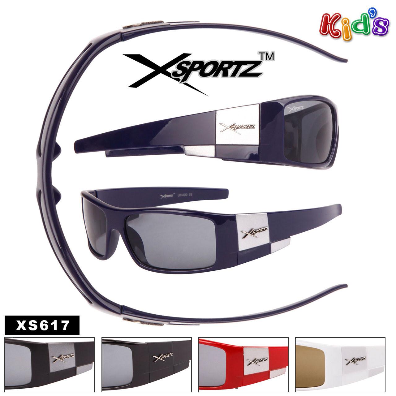 Xsportz Kids Sunglasses Assorted Colors - XS617