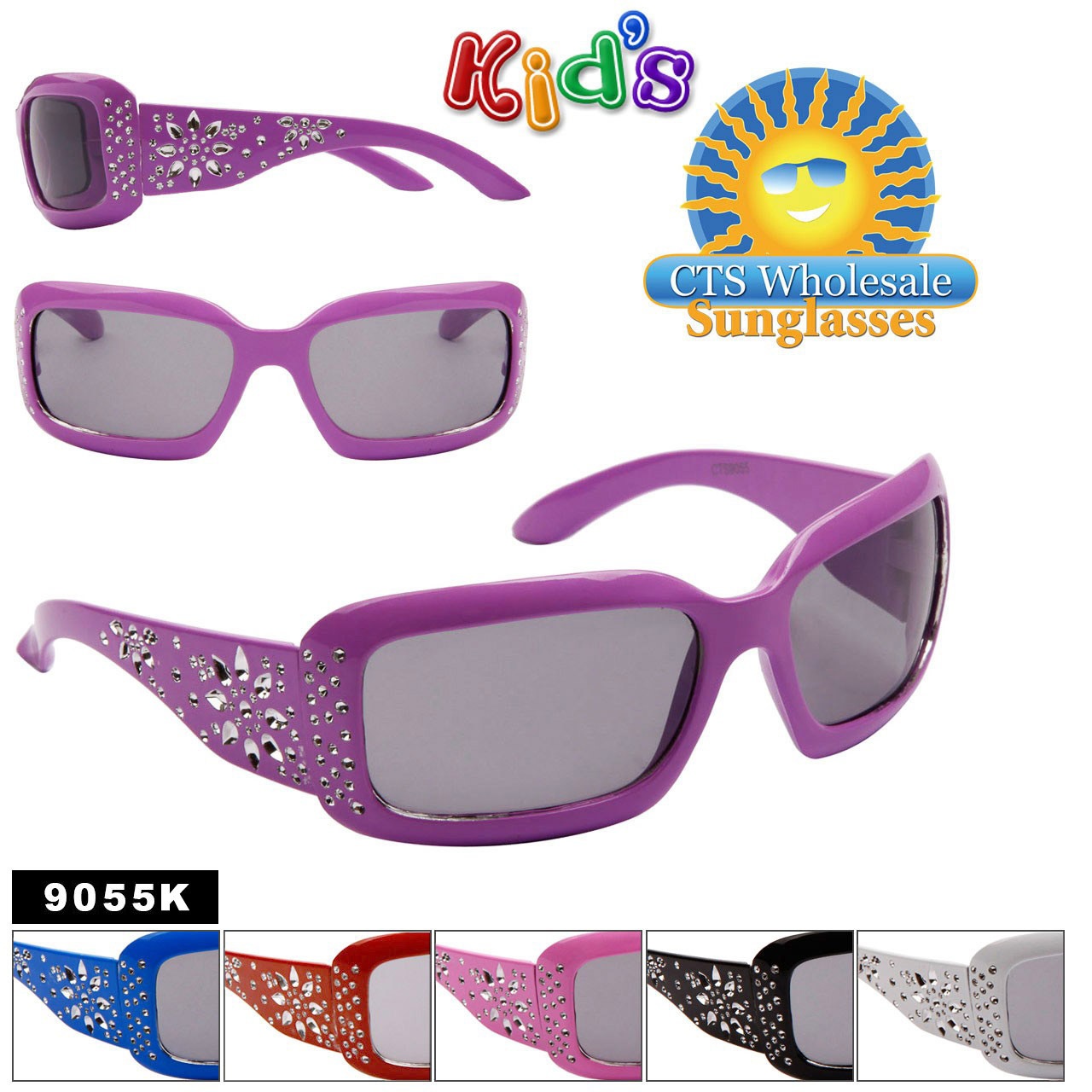 Girl's Fashion Sunglasses 9055K