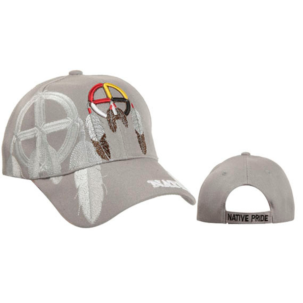 Dreamcatcher Wholesale Hat-Light Grey