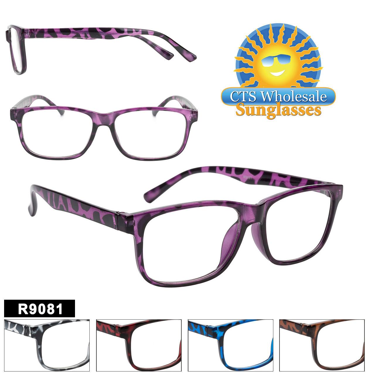 Bulk Plastic Reading Glasses - R9081