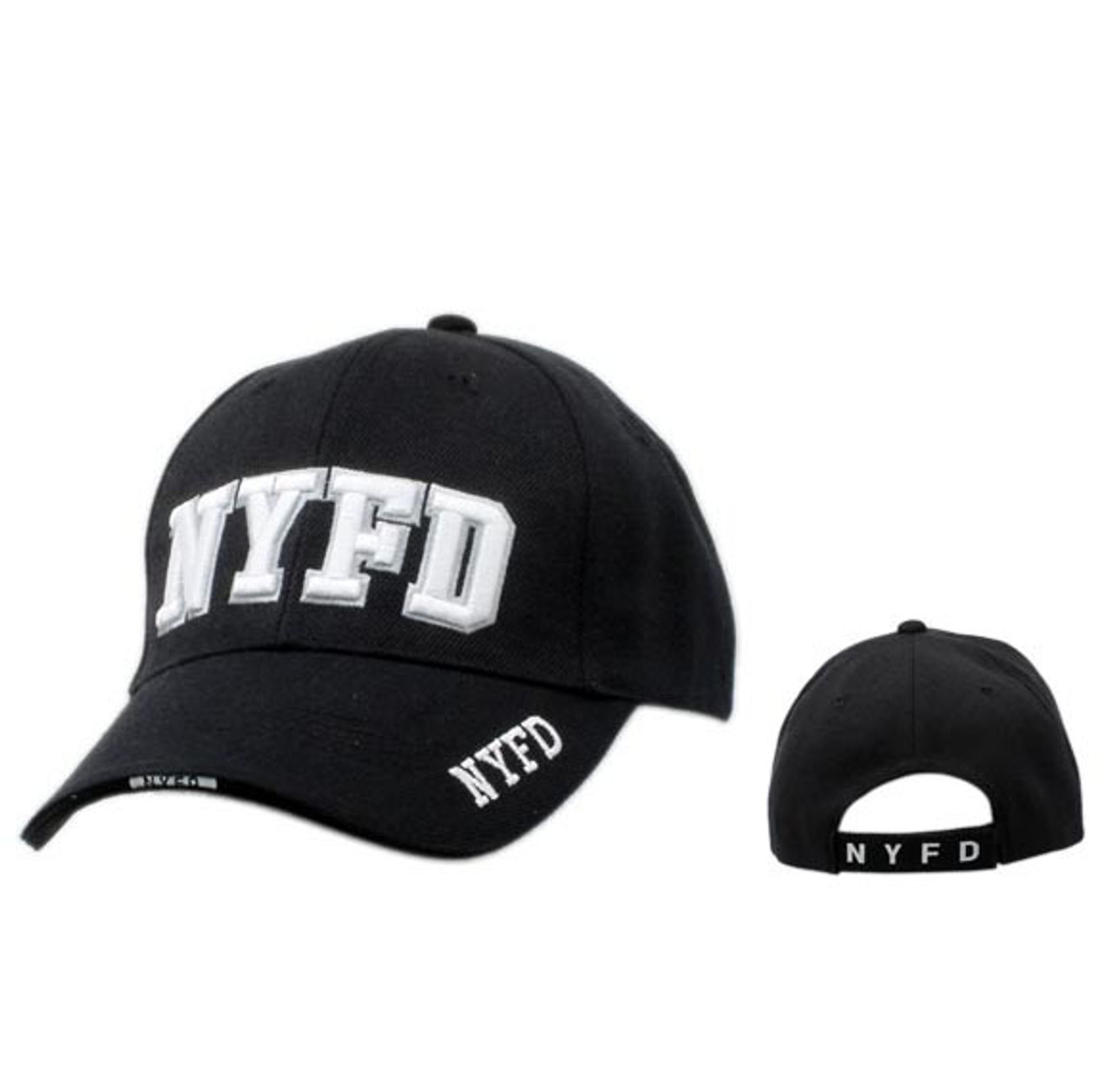 NYFD Wholesale Black Baseball Cap
