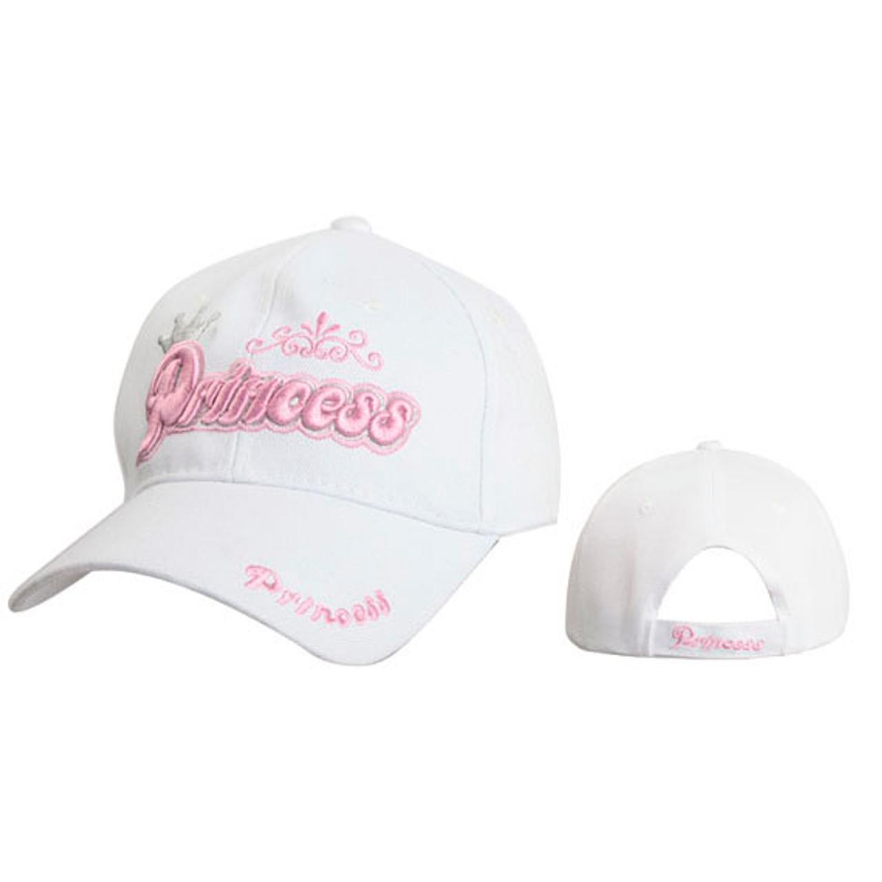 Wholesale Princess Cap for Women White