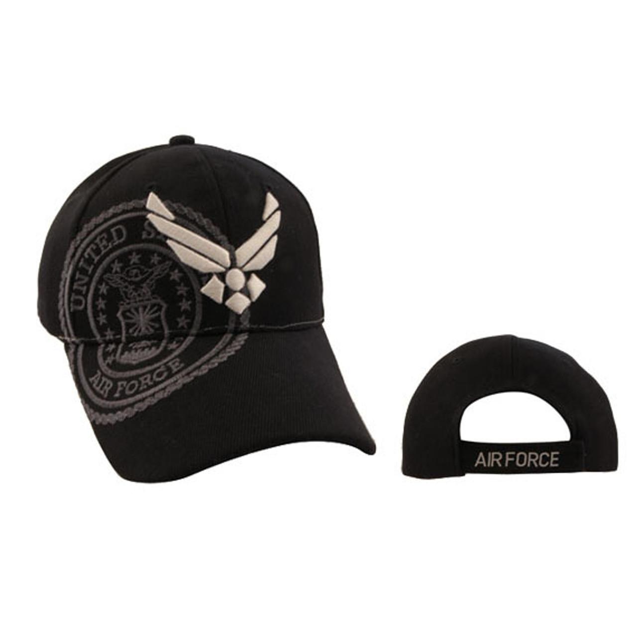 U.S. Air Force Baseball Hat Wholesale-Black