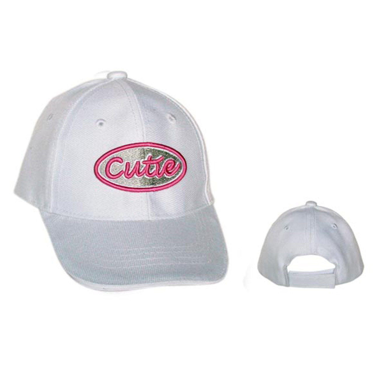 "Wholesale Kids Infant Sized Baseball Cap ""Cutie"" C1054 (1 pc.)"