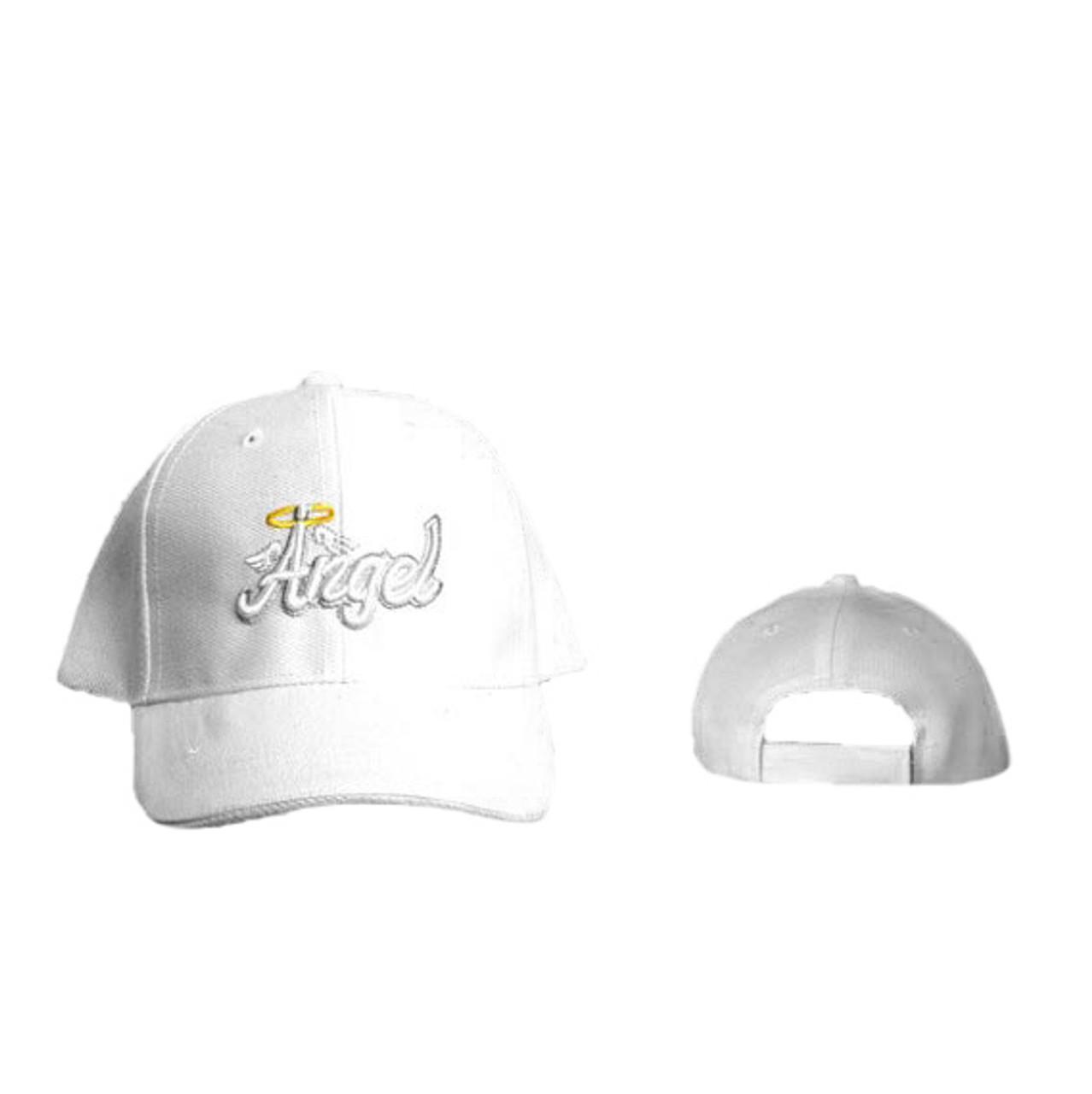 """Junior's """"Angel"""" Cap Wholesale-White"""