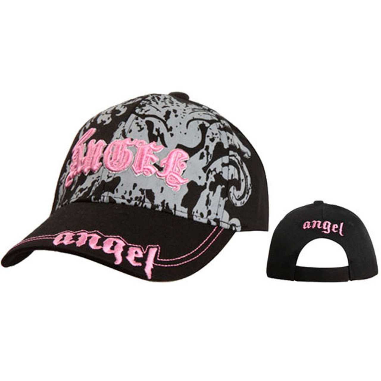 "Wholesale ""Angel"" Hats for Juniors' Black"