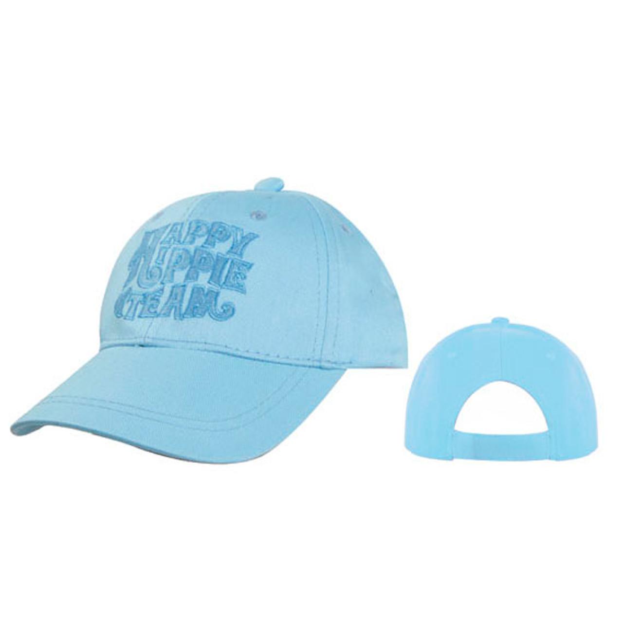 "Wholesale Kids Junior Sized Baseball Cap ""HAPPY HIPPIE TEAM"" C5225 (1 pc.)"