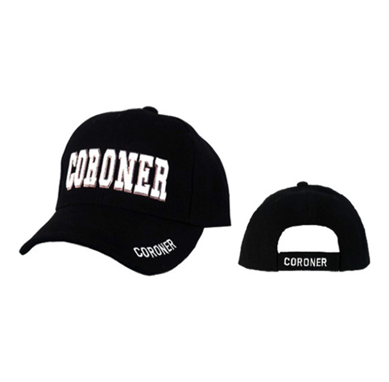 """Wholesale Caps """"Coroner"""""""