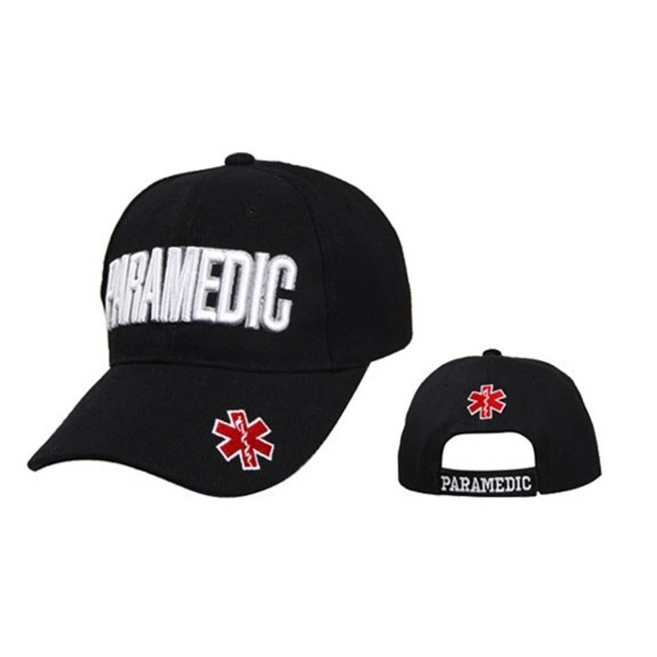 Paramedic Baseball Cap with Star of Life Symbol C1002