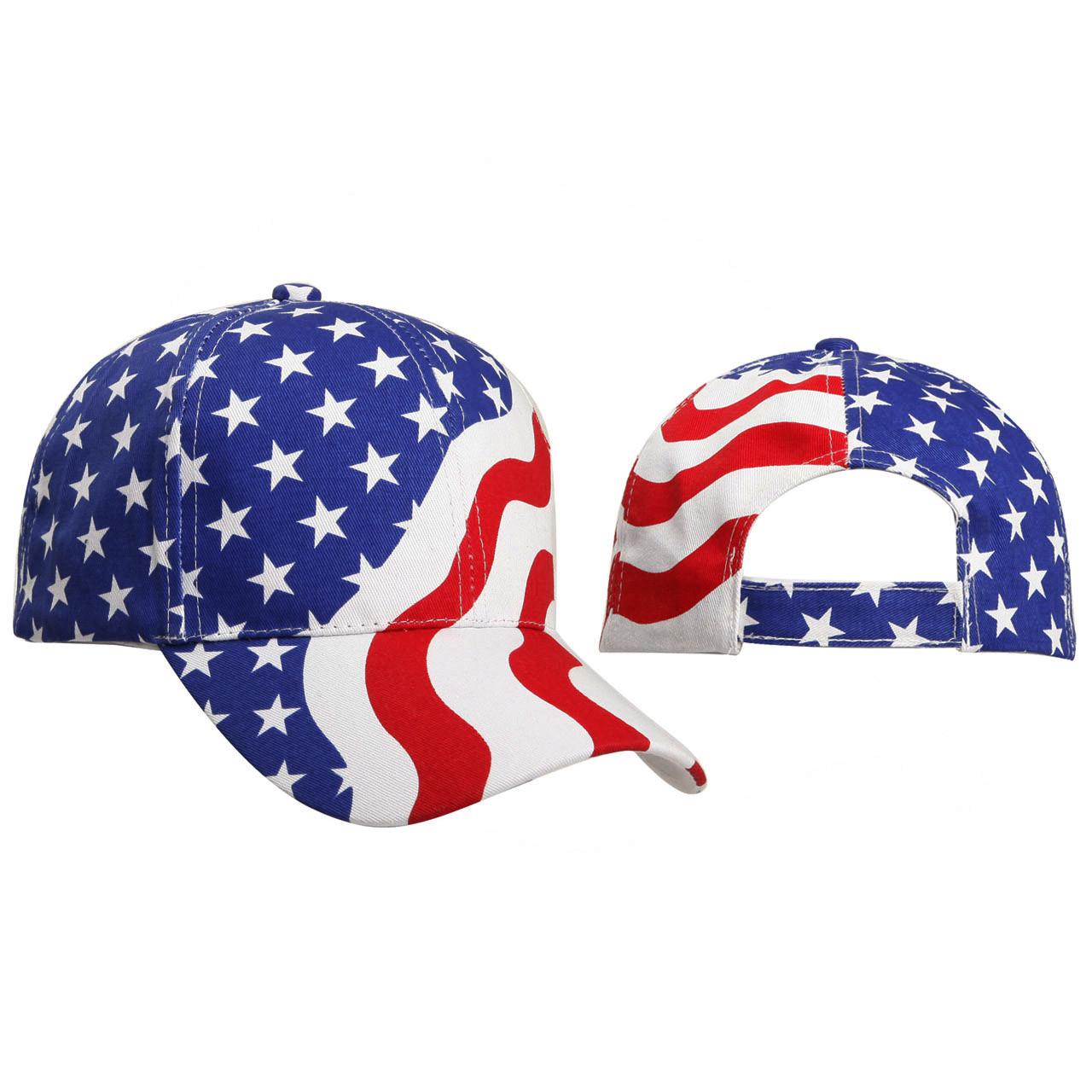 American Flag Wholesale Baseball Cap