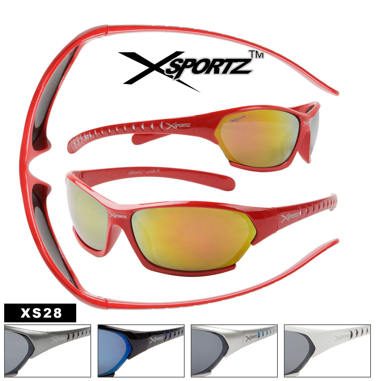 Wholesale Xsportz Sport Sunglasses XS28