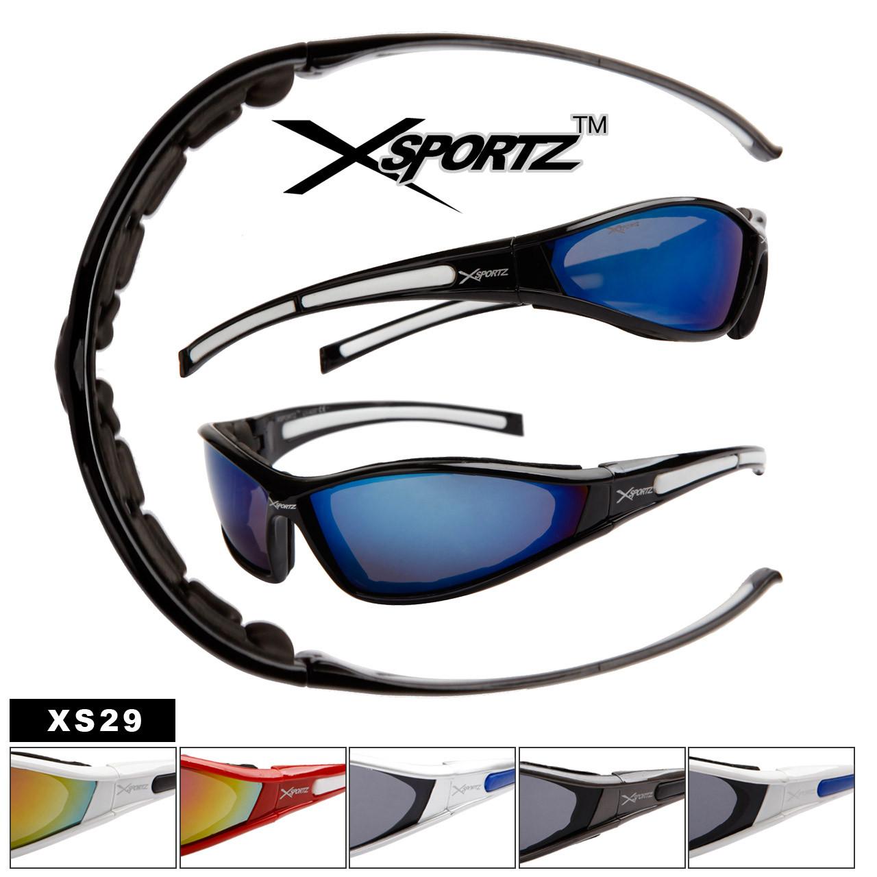 Xsportz™ Wholesale Sport Sunglasses by the Dozen - Style # XS29