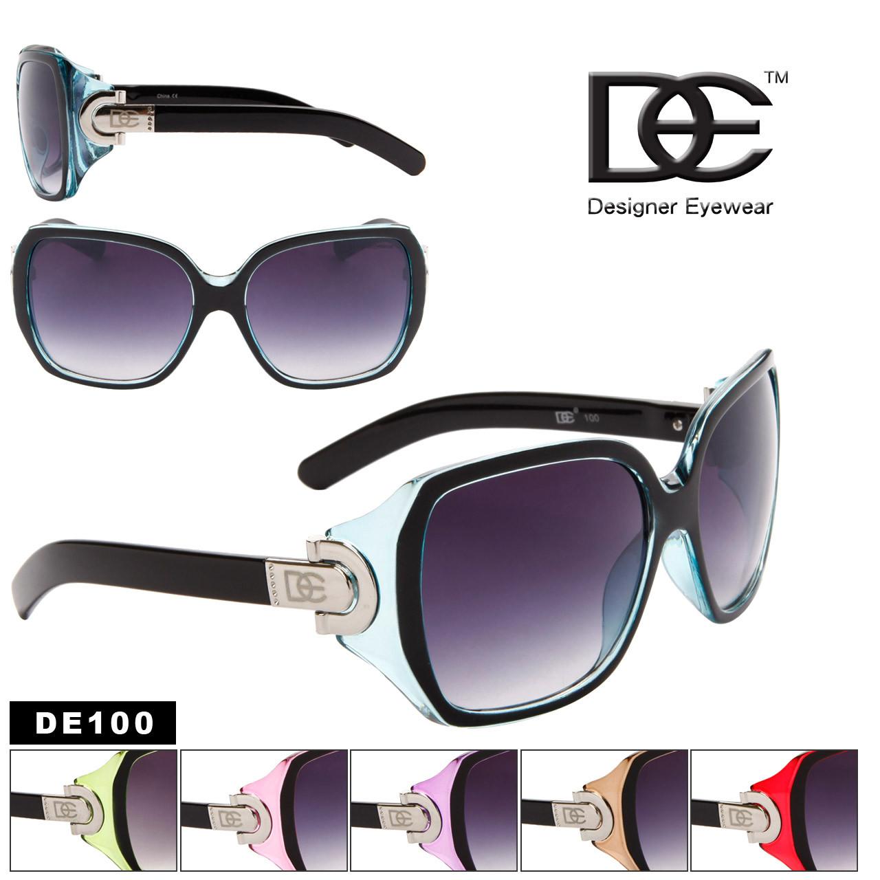 Wholesale Fashion Sunglasses DE100 (Assorted Colors) (12 pcs.)