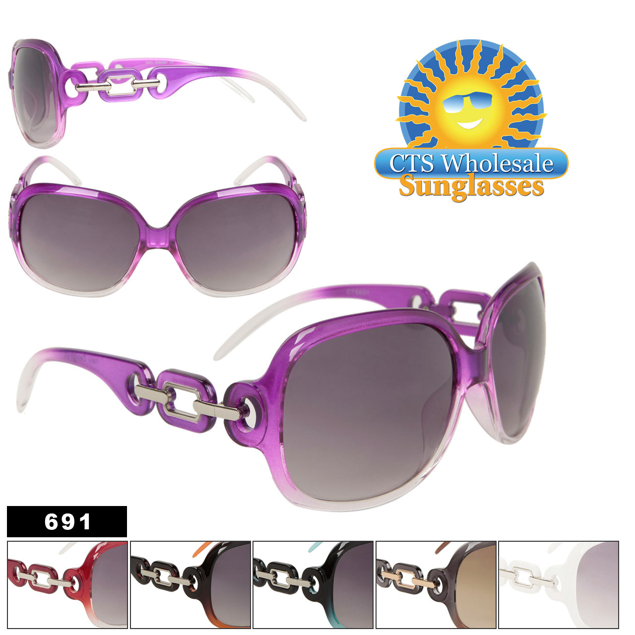 Wholesale Fashion Sunglasses 691