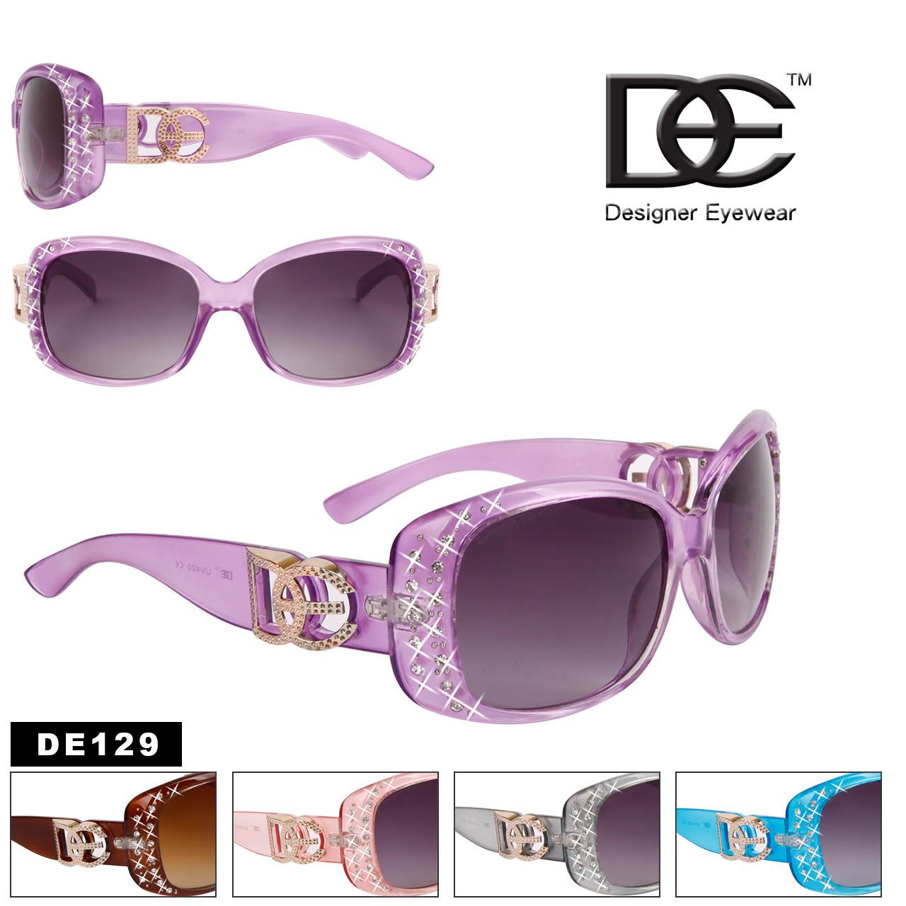 DE™ Designer Eyewear Bulk Fashion Sunglasses - Style #DE129
