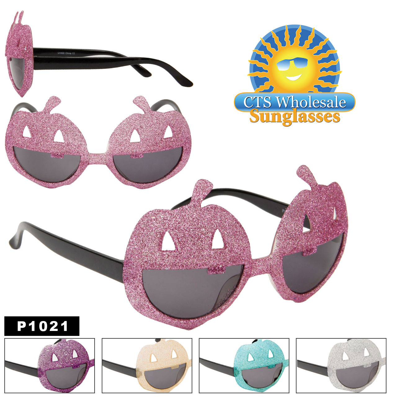 Jack-O-Lantern Party Sunglasses