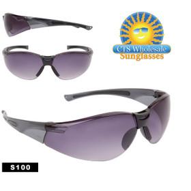 Safety Glasses ~ Tinted Lens ~ S100 (12 pcs.) Safety Eyewear