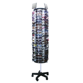 Wholesale Floor Model Sunglass Display Rack ~ Holds 120 Pair ~ 7049 (1 pc.)