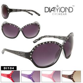 DI104 Rhinestone Sunglasses