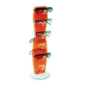 Counter Top Rotating Sunglass Display Rack ~ CTS03 (1 pc.) Acrylic