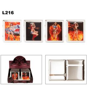 Cigarette Cases L216 (12 pcs.) Assorted Cowgirls