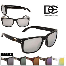 Wholesale Sunglasses DE712 Designer Eyewear™ (Assorted Colors) (12 pcs.)