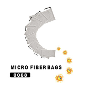 Micro fiber Bags 0068 (12 pcs.) Silver Color