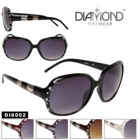 Rhinestone Sunglasses DI6002 Diamond™ Eyewear (Assorted Colors) (12 pcs.)