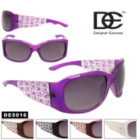 DE™ Designer Eyewear DE5016 Women's Fashion Sunglasses (Assorted Colors) (12 pcs.)