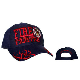 Fire Fighter Wholesale Hat Navy Blue