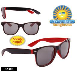 Plastic California Classics Sunglasses Wholesale - Style # 8186