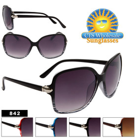 Vintage Fashion Wholesale Sunglasses - Style # 842