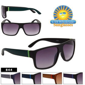 Unisex Fashion Sunglasses by the Dozen - Style #844