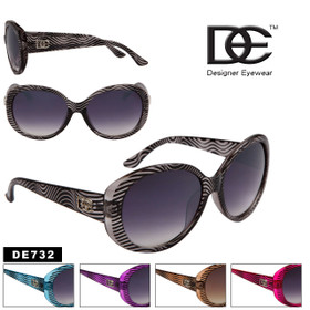 Women's DE™ Designer Eyewear by the Dozen - Style # DE732 (Assorted Colors) (12 pcs.)