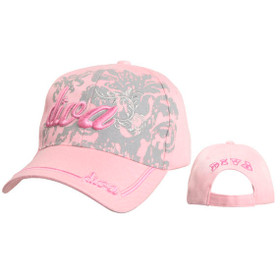 "Pink ""Diva"" Baseball Caps Wholesale"