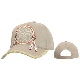 Wholesale Baseball Cap C5190 (1 pc.) Dream Catcher with Feathers