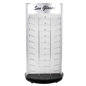 Counter Top Rotating Sunglass Display   Holds 60 Pair