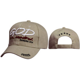 Christian Cap Wholesale C234 ~ God is in Control