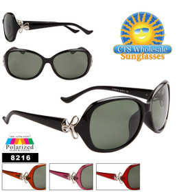 Wholesale Women's Polarized Fashion Sunglasses 8219