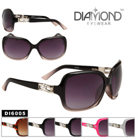 Diamond™ Eyewear Rhinestone Sunglasses Wholesale - Style # DI6005