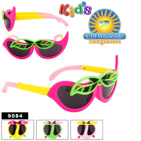 Folding Wholesale Kid's Sunglasses - Style #9084