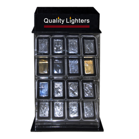 Lighter Display Case ~ LIGHTERS NOT INCLUDED L218 (1 pc.) Holds 32 Lighters