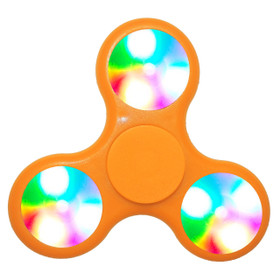 LED Fidget Spinners LFS (12 pcs) Orange