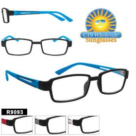 Bulk Readers - R9093 (12 pcs.) Assorted Colors ~ Lens Strengths +1.00—+3.50